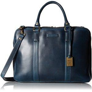 New Frye David Briefcase/messenger bag in blue$997